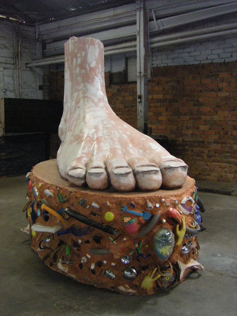 2Big Foot Front