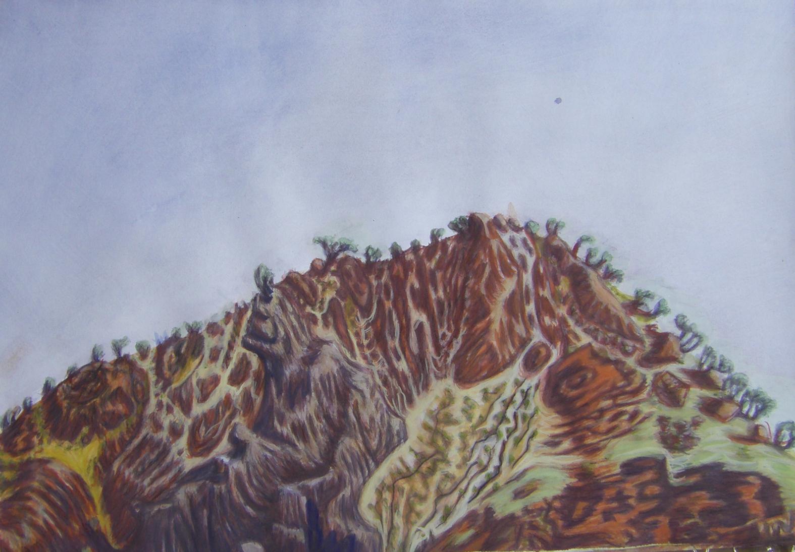 Weetootla-gouache&pencilonpaper60x40cm2015