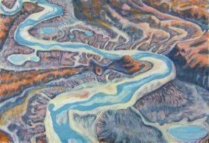 blue-river-acrylic-on-paper-60x80cm-2016